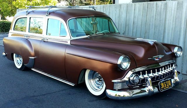 247 Autoholic Wagon Wednesday 1953 Chevy Wagon