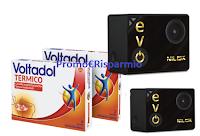 Logo Scatti in movimento: con Voltadol vinci  Nilox EVO 4k30