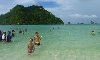 Excursión a las 4 Islas o Four Islands Tour. Koh Tup o Isla de Tup.