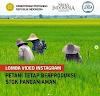 [Gratis] Lomba Video Instagram Petani Nasional 2020 oleh Kementrian Pertanian RI