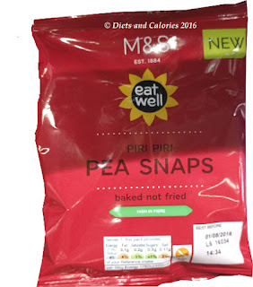 M&S Eat Well Piri Piri Pea Snaps