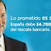 Europa autoriza a Rajoy a devolver por anticipado 1.000 millones del rescate bancario
