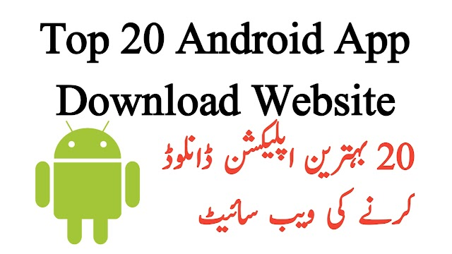 Top 20 free Android app download websites