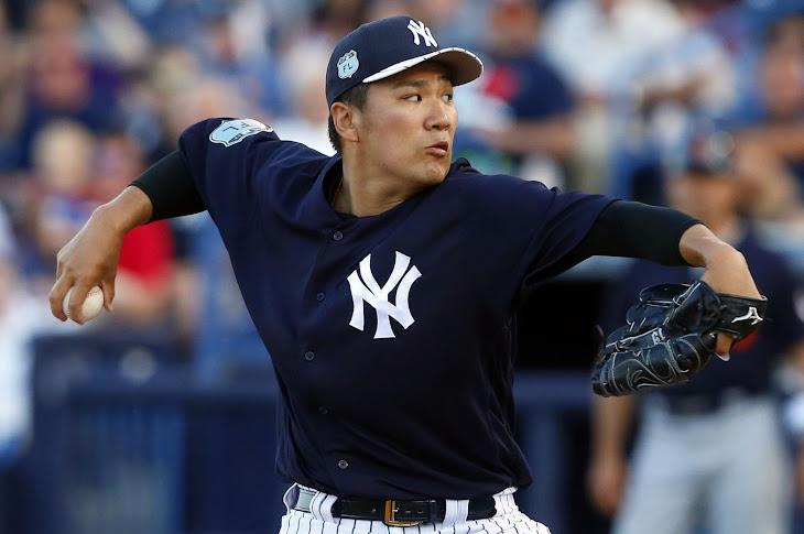 Masahiro Tanaka Hit With A Line Drive In The Head