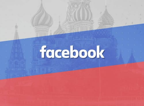 Russia condemns Facebook for blocking some media coverage