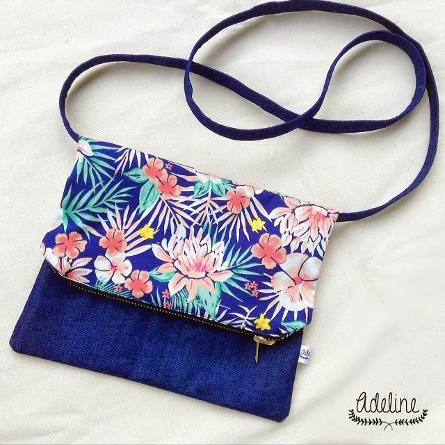 fold over sling bag