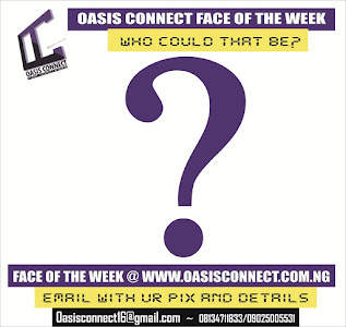 OASIS FACE OF THE WEEK