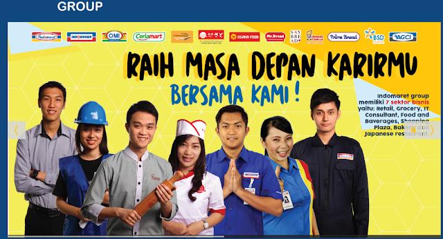 Lowongan Kerja SMA SMK D3 S1PT. Indomarco Prismatama (Karir Indomaret Groups) , Jobs: Trainer, Surveyor & Analisys, Baker, Staff Accounting, Admin Support, Etc.