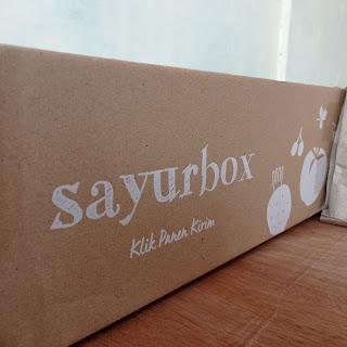 Pengemasan Sayurbox menggunakan kardus karton tebal