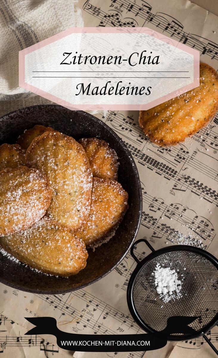Zitronen-Chia Madeleines