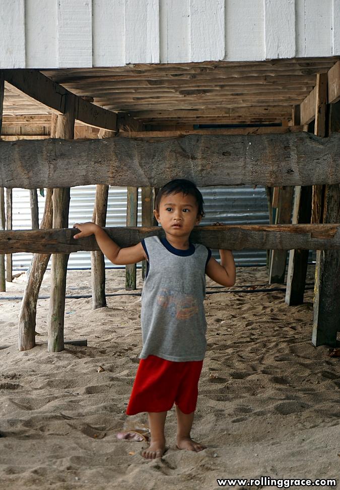 ethnic Bajau Laut people