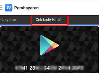 kode kupon hasiah google play gift card