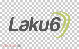 Logo Laku6 - Download Vector File PNG (Portable Network Graphics)