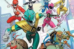 Komik Crossover antara Mighty Morphin Power Rangers Dan Teenage Mutant Ninja Turtles Segera Dirilis