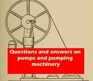 pumping machinery