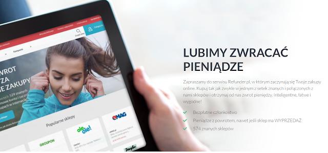 Oszczędzaj z Refunder.pl.