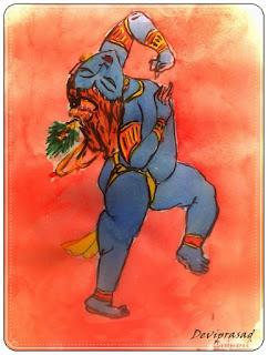 The Natkhat Baal Krishna by Deviprasad Patra.