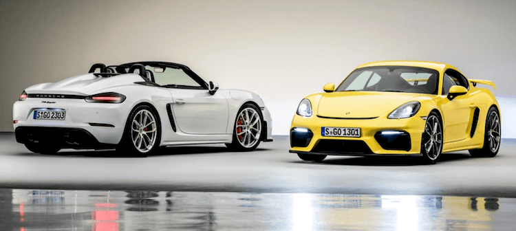 2020 Porsche 718 Cayman Spyder And GT4 Launched in INDIA