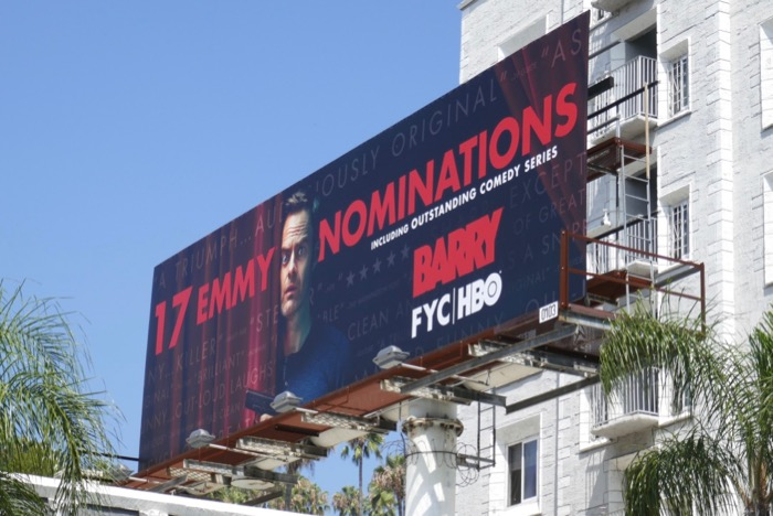 Barry 2019 Emmy nominee billboard