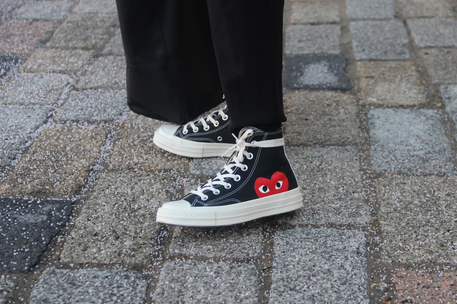converse homme cdg