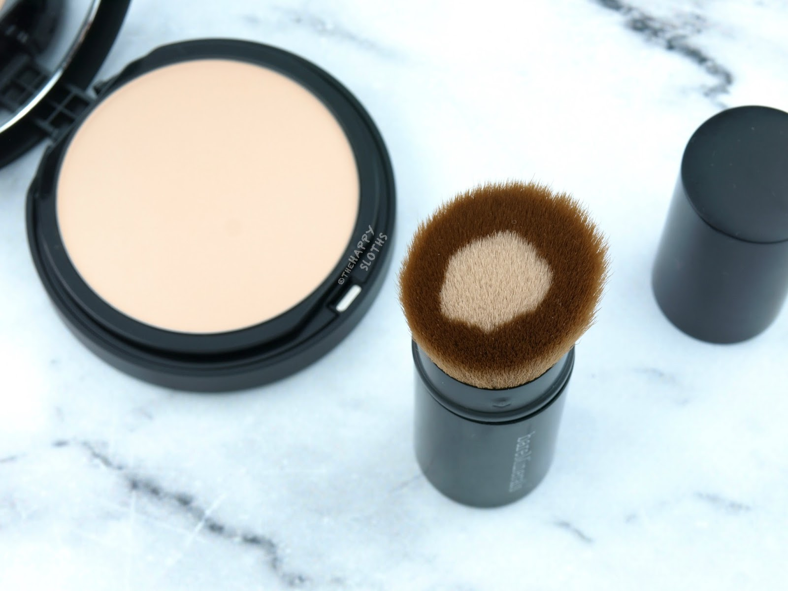 bareMinerals BAREPRO Core Coverage Brush: Review and Swatches