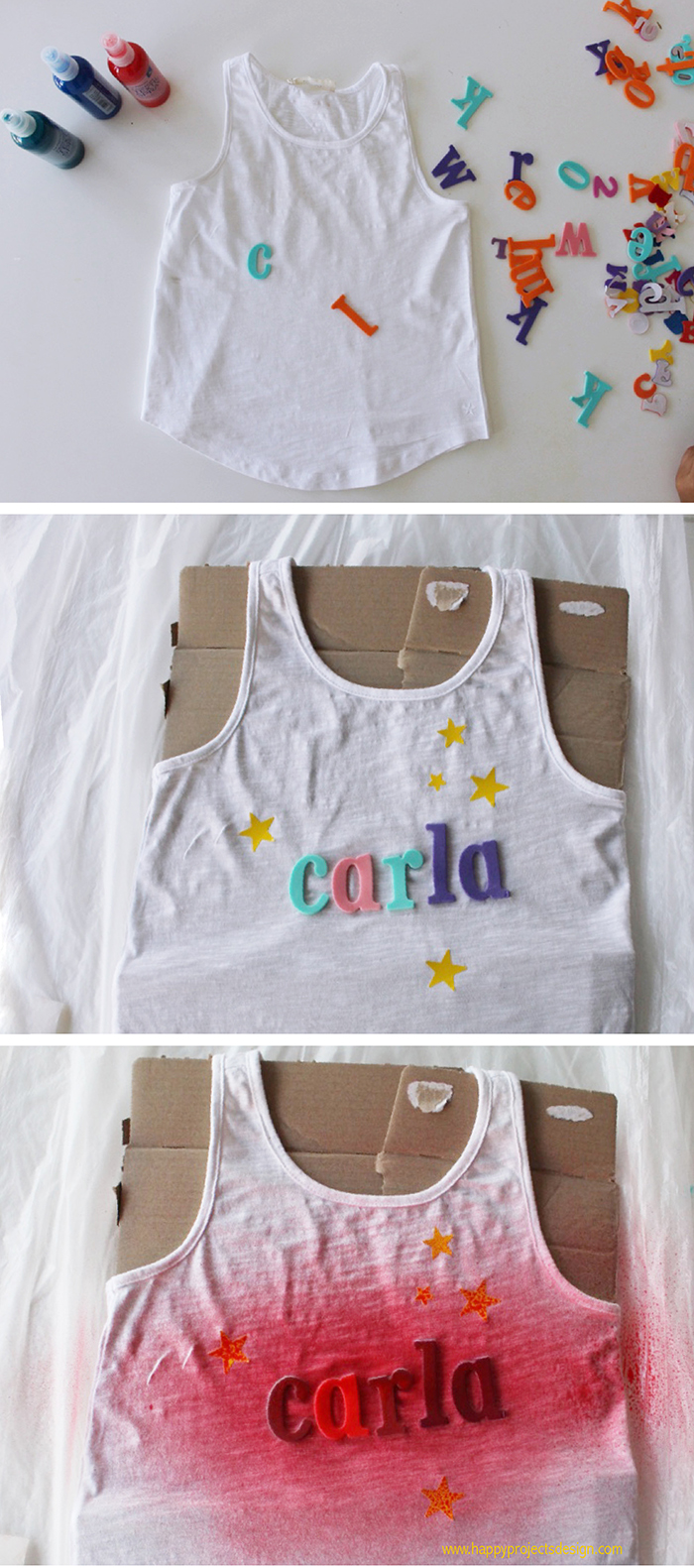 camisetas estampadas diy