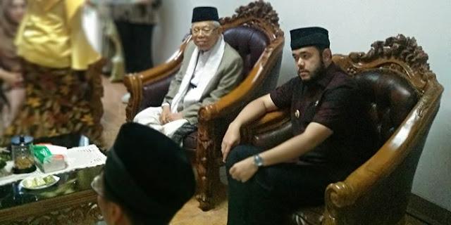 Tim Prabowo Protes Walkot Padang Panjang Terima Ma'ruf Amin di Rumah Dinas