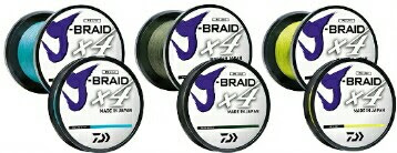 J-BRAID® BRAIDED LINE x4