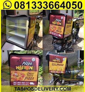 Produsen Tas delivery pizza Nation Jakarta bandung bogor tangerang bekasi jogja solo semarang malang surabaya bali banjarmasin batam