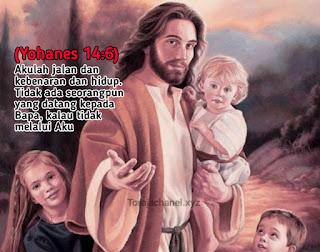 Jangan Sesat, Jalan Kehidupan Hanya Pada Tuhan Yesus  (Yohanes 14:6)  Akulah jalan dan kebenaran dan hidup. Tidak ada seorangpun yang datang kepada Bapa, kalau tidak melalui Aku.