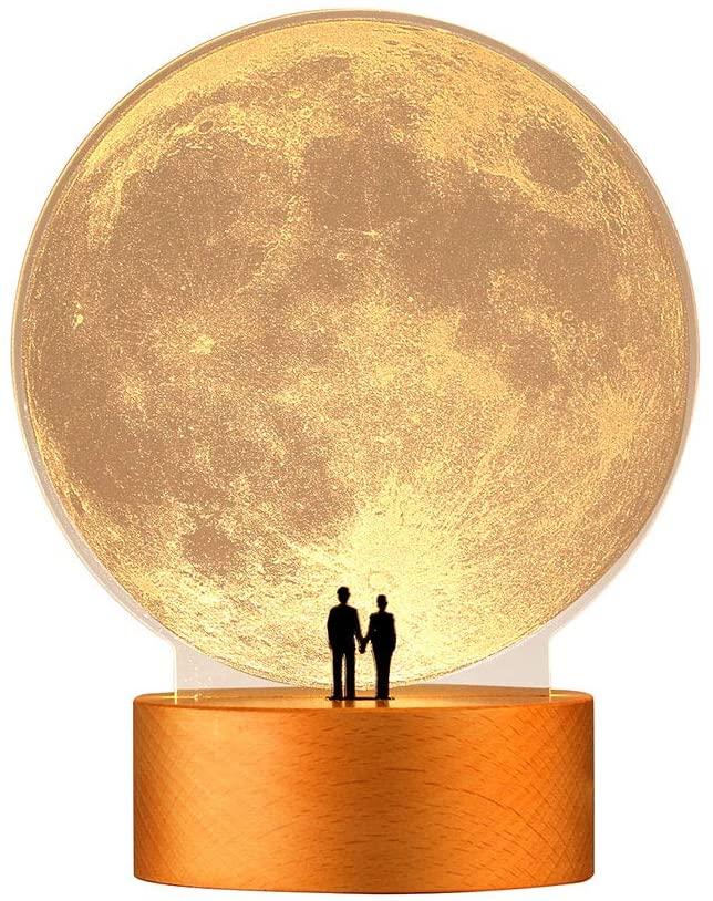 Moon Night Light Home Decor