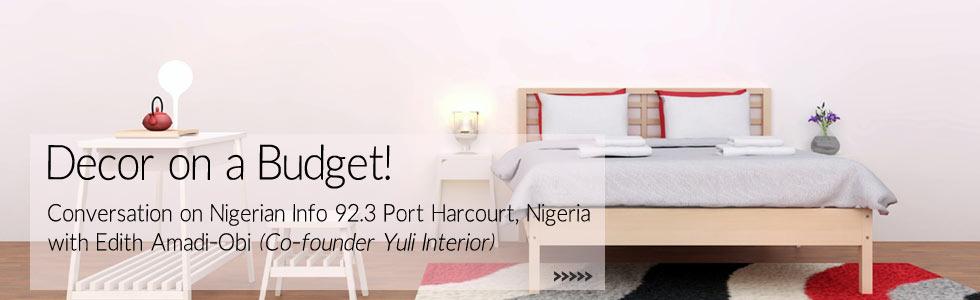 Nigerian Info Conversation with Yuli Interior CEO