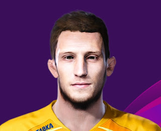 PES 2020 Faces Nikolay Rybnikov by Korneev