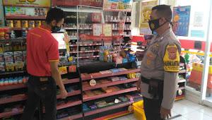 Brigadir Iwan Handayana Binmas Baleendah Polresta Bandung, Sambang minimarket
