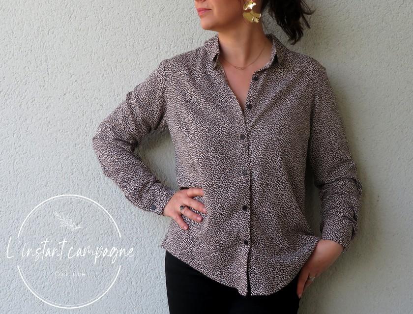 Ma blouse cache-coeur [Burda]   SB créations