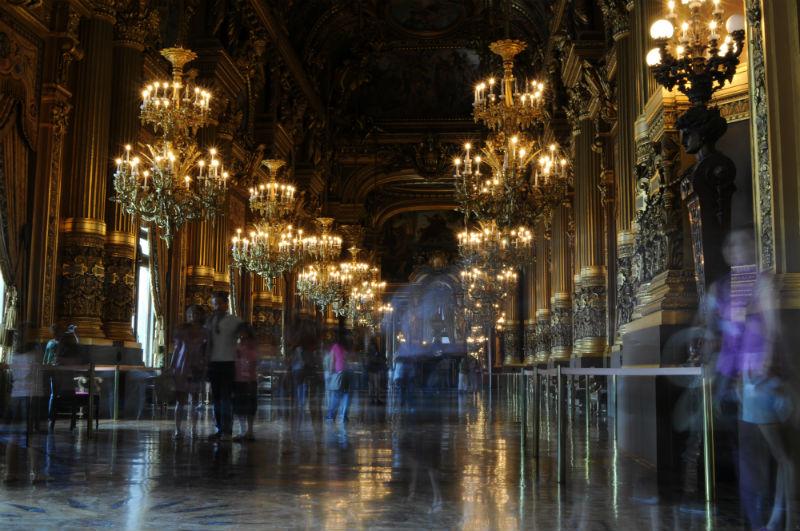 Grand Foyer Palais Garnier 1875 Charles Garnier
