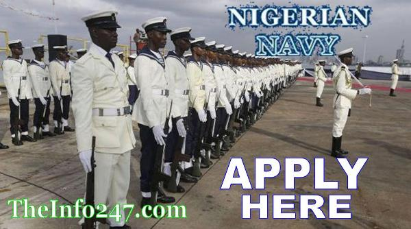 Nigerian Navy Recruitment 2018/2019 Registration Form - See All Information You Need To Know - Download Form Apply for Nigerian Navy Recruitment