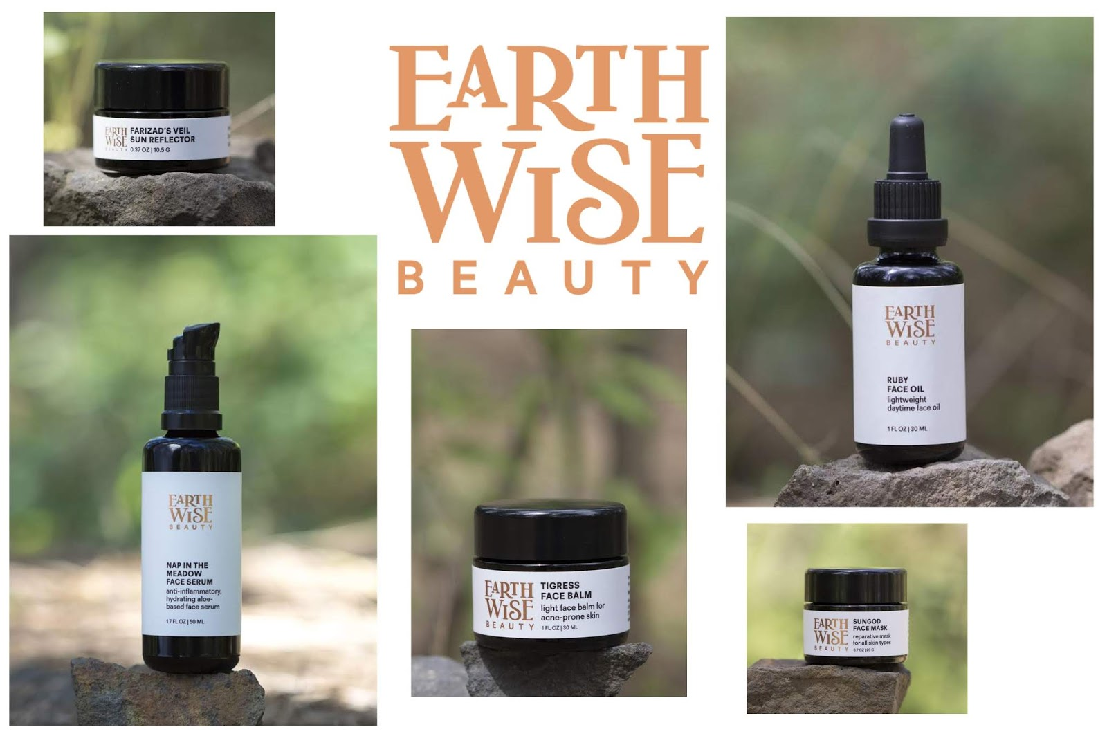 Earthwise Beauty New Packaging & Logo