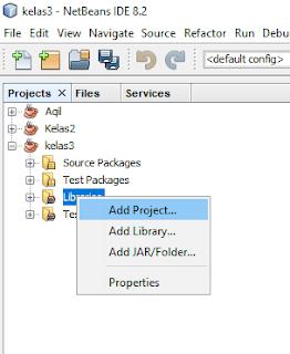 Program Java Netbeans : market