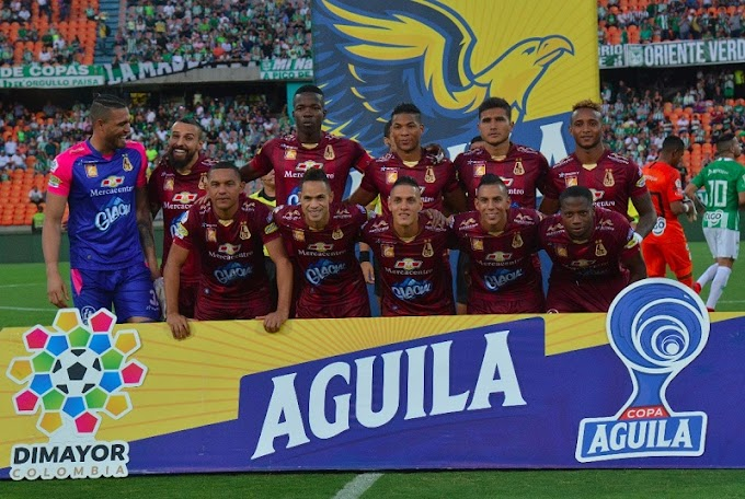 DEPORTES TOLIMA, en el 'Top-10' de equipos de la Conmebol según la IFFHS