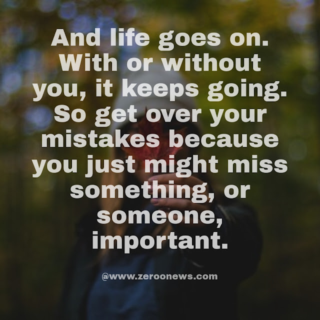 Quotes on Mistakes in Relationship, Love and Life