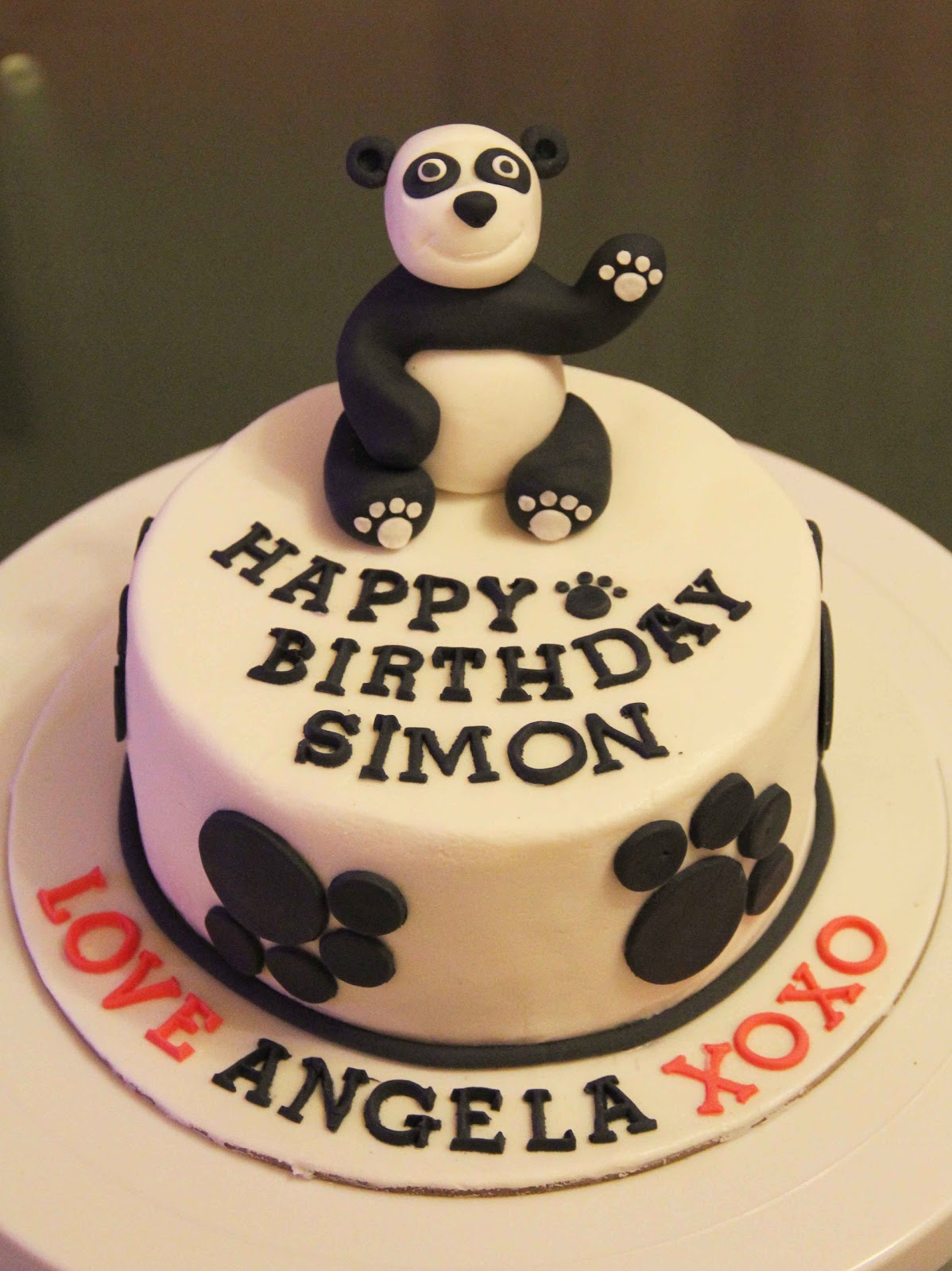 Bakerz Dad Panda Cake
