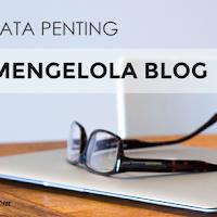 Data penting untuk mengelola blog