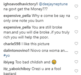 You Will Die Poor - Fans Slams Orezi Because of This Act
