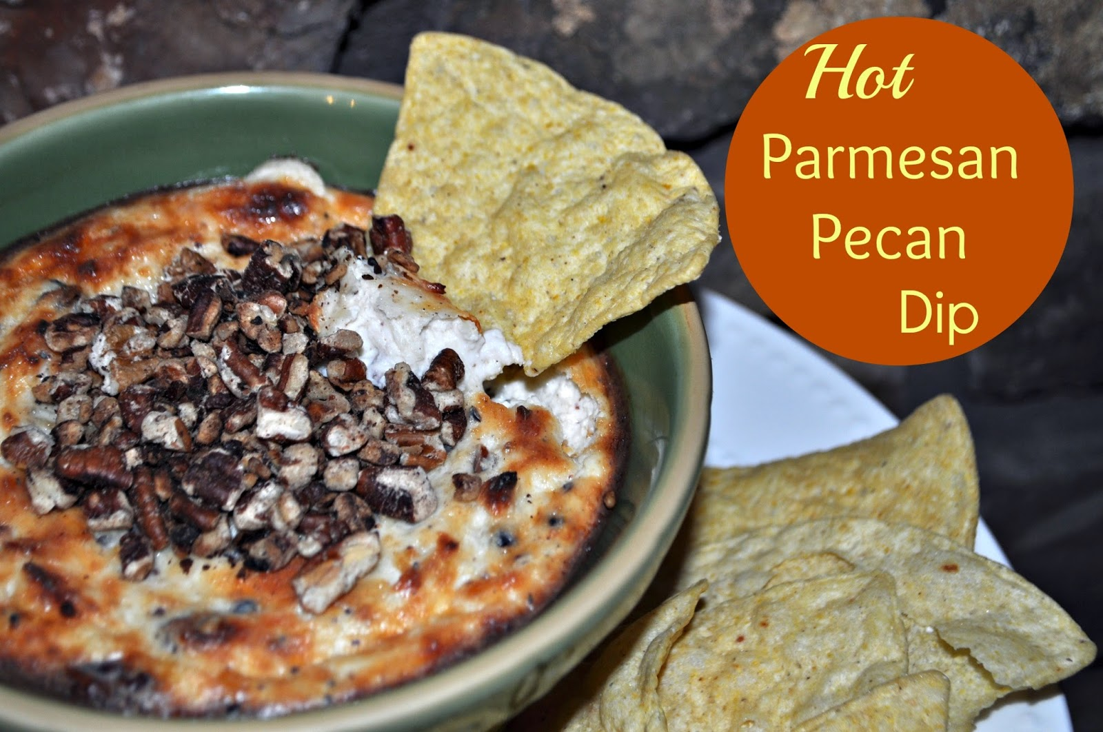 Hot Parmesan Pecan Dip I Hope in Every Season