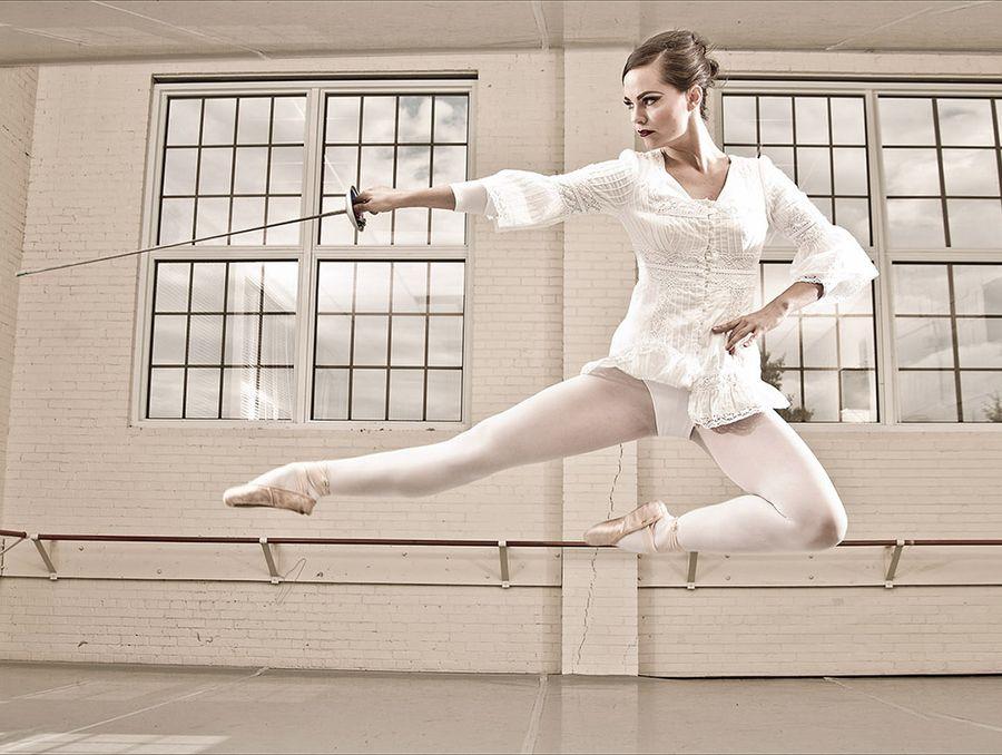 19. Ballerina Swordfight