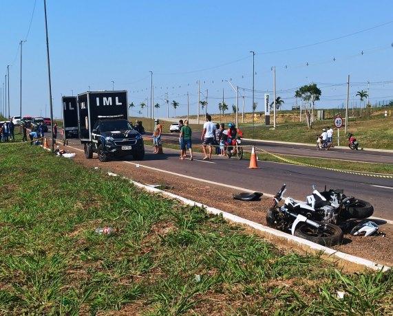 Jovem morre a caminho do trabalho em acidente de moto na BR-364