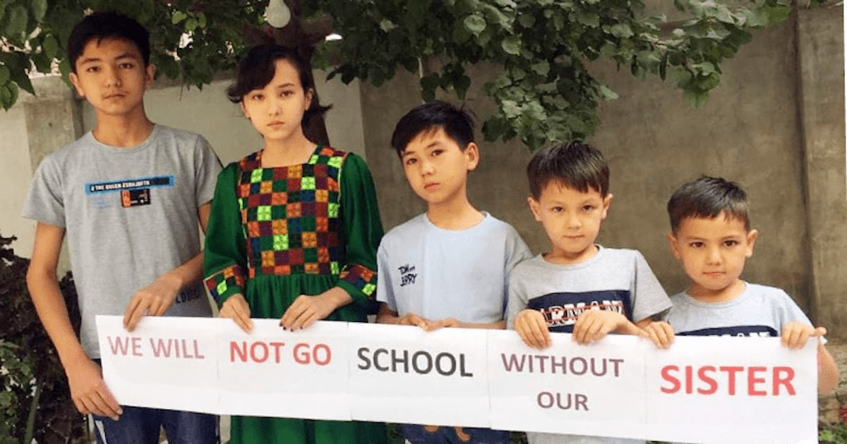 'Not Without Our Sisters' Schoolboys Protest In Afghanistan Demanding Education For Girls