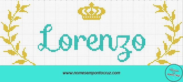 Nome Lorenzo em Ponto Cruz