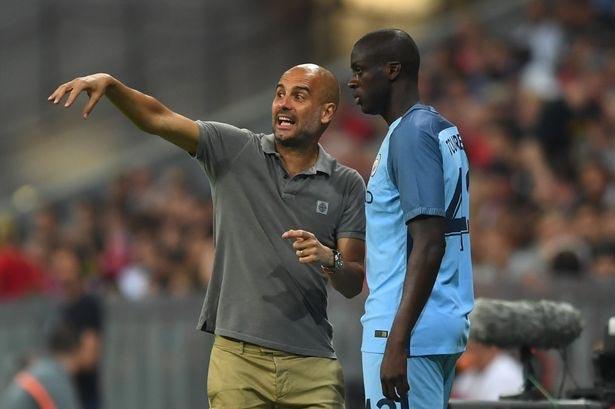 Guardiola leaves Yaya Toure out of Man City Champions League squad